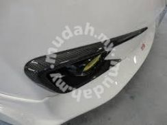 Civic fd type r carbon fiber canard air duct