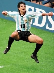 Rare jersey argentina worldcup 1998 ortega no 10