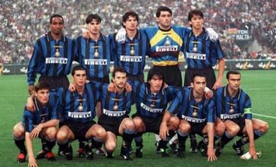 Vintage rare jersey inter milan 1996/1997 home