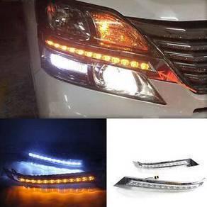 Toyota vellfire 2012-2014 up led eye lip