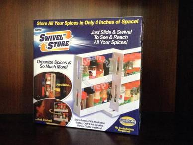 Swivel Store Save Space