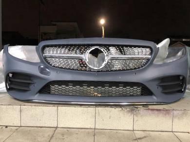 Mercedes benz w205 facelift amg c63 bumper BODYKIT