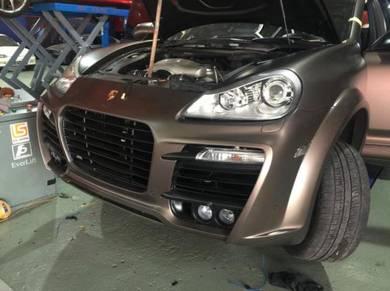 Porsche audi airmatic absorber system repair