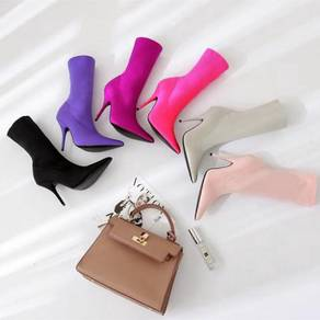 Pointed party heels boots 10cm RBH0178