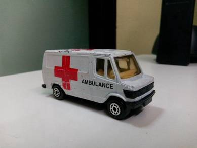 Vintage Mercedes Van, ambulance
