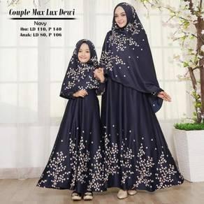 Dewi Set Baju Raya Sedondon mom & kid long sleeve