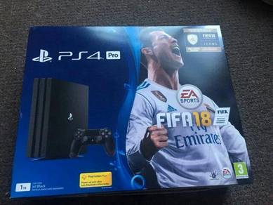 Ps4 pro Fifa 18 1TB New/sealed