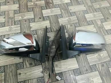 Side mirror chrome autoflip dan barang avy viva