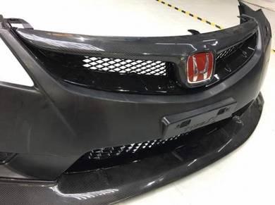 Honda Civic FD Type R Bumper Carbon Grill