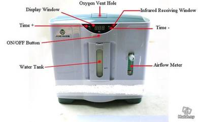 Generator oxygen adjustable remote