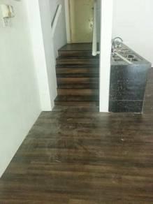 Vinyl Flooring lantai utk rumah off kedai dll T56