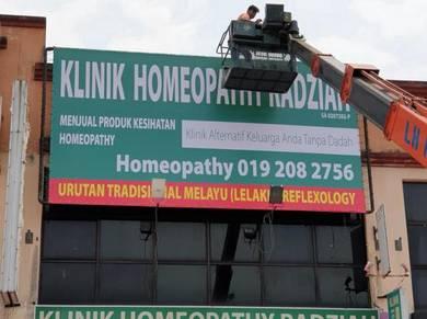 Signboard, Banner, Sticker termurah Selangor