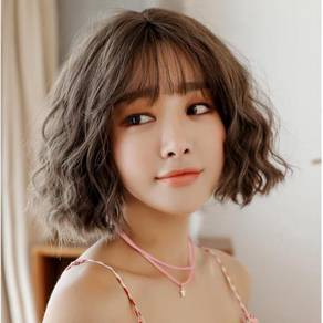 Lady Wig Short Natural Wave Curly Hair - LS3416