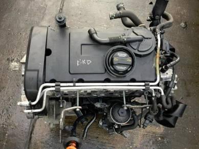 2008 VW JETTA 2.0 TDI 140bhp BKD BARE ENGINE