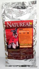 10kg Natureal Premium Beef & Rice Dog Food