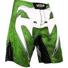 Venum UFC MMA Green White Pant (Gym Fitness Sport)