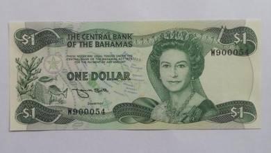 Bahamas 1 dollar QEII 1974 p43 unc