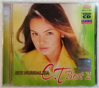 VCD SITI NURHALIZA CT Best 2 MTV Karaoke