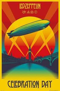 Poster LED ZEPPELIN CELEBRATION DAY V 1