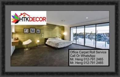 Modern Plain Design Carpet Roll With Install S62
