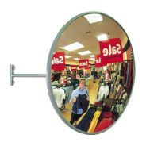Stainless Steel Convex Mirror Indoor Use