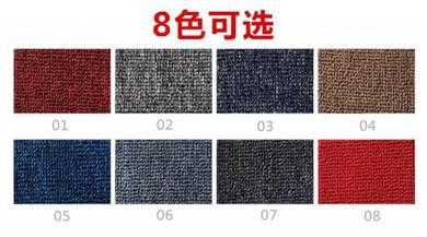 Classic Plain Design Carpet Roll with Install J37