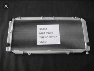 SARD aluminum radiator Toyota MR2 turbo SW20