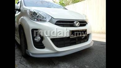 Perodua New Myvi SE Front V-Lip And Rear V-Lip PU