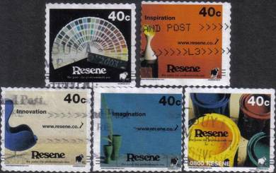 Resene Paint Professional Use New Zealand Stamp
