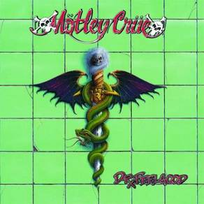 Motley Crue Dr. Feelgood 180g LP (Green Vinyl)