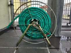 30 meter water pipe and roller