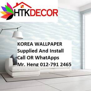 HOToffer Wall paper with Installation  615BW