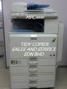 Mpc3000 photocopier color machine for sale
