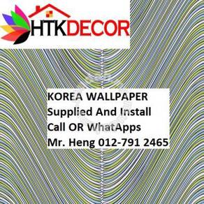 Classic wall paper with Expert Installation 0435W