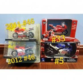 Newray Leo Maisto 1:18 1:12 MotoGP Diecast Motor