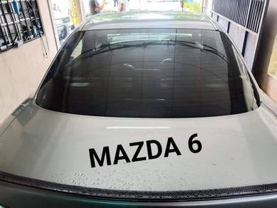 Car tinted - normal uv film - myvi, Axia, beeza