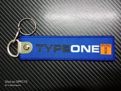 Type One Keychain