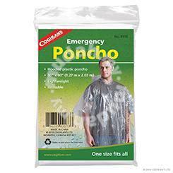 17RAG COGHLANS Emergency Poncho - Clear