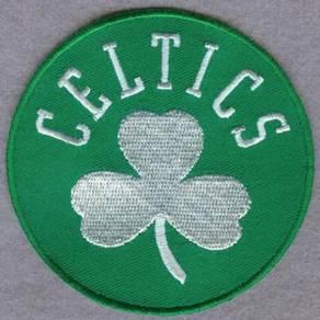 NBA Boston Celtics Basketball Embroidered Patch