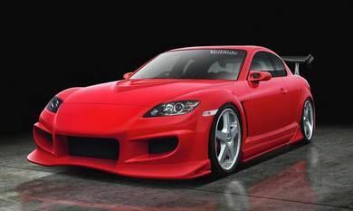 Mazda RX8 Veilside Bodykit Bumper