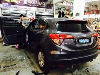 Car safety tinted honda/toyota mpv
