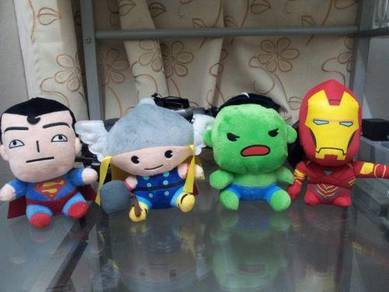Super hero plush toys