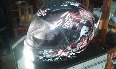 Helmet Ikan Koi JApan full