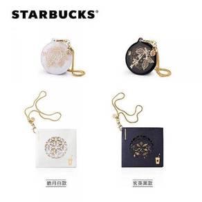 Starbucks China Black & White Pair Filigree Card