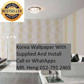 Simple Design With Wall paper with Install 409A