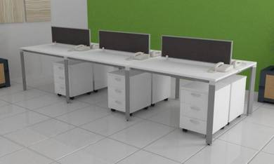 Office Workstation Table Desk for 6 Pax