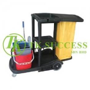 Anders Janitor Cart with Double Wringer Bucket 315