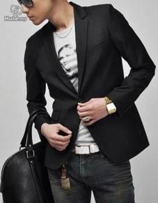 Korean Polytech Silky Commercial Elegant Blazer