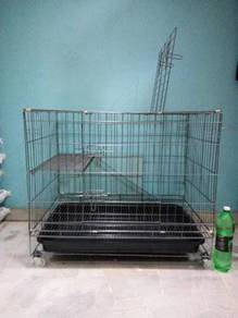 306L Cat Cage Wrought Iron 36