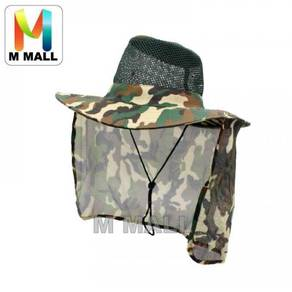 Camo fishing hat 08